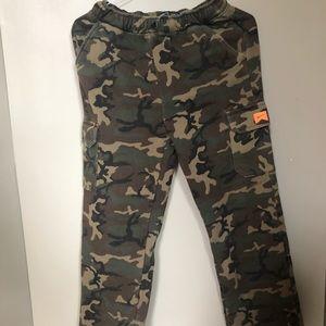 Nike Camo Cargo Sweatpants